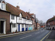 Chesham, Church Street,Buckinghamshire © Cathy Cox